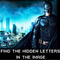 Find The Hidden Letters In The Image