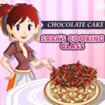 Sara's Cooking Class Chocolate Cake