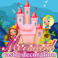 Mermaid Castle Decoration