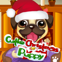 Juegos Gratis Populares,This adorable little puppy needs some help getting ready for December 25th. Can you lend a paw? puppy loves to dress but need you to get the style! This cute puppy needs your help to look very beautiful. Click a different category to see all the options, or click the question mark to generate a random look. When you are ready, click Finish to save or print your work.