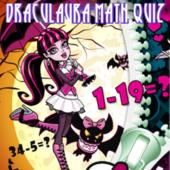 Draculaura Math Quiz