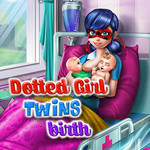 Dotted Girl Twins Birth