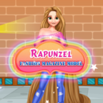 Rapunzel Fashion Magazine Model