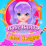 Baby Barbie Tattoo Designer