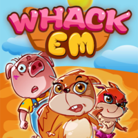 Whack Em,Whack Em is one of the Tap Games that you can play on UGameZone.com for free. Greedy little squirrels are always eating farmer uncle's crops, you can help him get rid of the little squirrels? You can get them back into the hole by clicking on the squirrels. Caution! Don't fight the ghosts, they are so terrible! Come on!