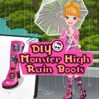 DIY Monster High Rain Boots