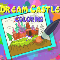 Dream Castle Coloring