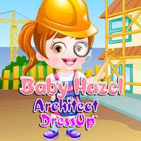 Baby Hazel Architect Dressup