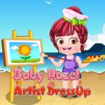Baby Hazel Artist Dressup