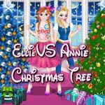 Ellie VS Annie Christmas Tree!
