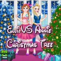 Ellie VS Annie Christmas Tree!