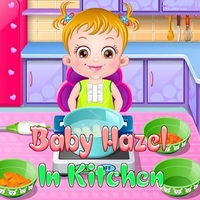 Trendy gier,Baby Hazel In Kitchen is one of the Baby Hazel Games that you can play on UGameZone.com for free. Baby Hazel and her mom are in the grocery store to buy some kitchen tools and ingredients. Her mom is buying the tools and ingredients to prepare some delicious meal for the baby. Baby Hazel is a very intelligent and brilliant baby. The baby's wish is to help her mom. Her mother does not want to disappoint her baby, so she accepted her request. Since she is a baby, she may not be able to pick the right tools or ingredients and even she may not be able to work in the kitchen, so her mom wants you to monitor and guide her baby.
