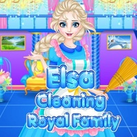 Elsa Cleaning Royal Family