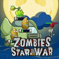 Tendances des jeux,Zombies Star War is one of the Tower Defense Games that you can play on UGameZone.com for free. The war between Plants and Zombies has been escalated. The war place is now moving to the outer space! Facing the crazy attack of the Zombies, Plants will drive their warship to fight back! Enjoy this tower defence game in a cool running type! Have fun!