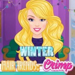 Winter Hair Trends Crimp