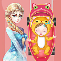 Spiele-Trends,Take Care Of My Sister Anna is one of the Baby Care Games that you can play on UGameZone.com for free. Elsa's parents are too busy to take care of her sister Anna and they hope Elsa can do this. But Elsa has no experience of taking care a baby, can you help her finish her job?