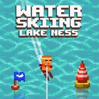 Water Skiing Lake Ness