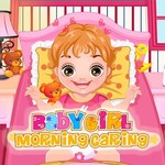 Baby Girl Morning Caring