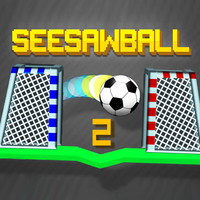 Tendenze dei giochi,Seesawball 2 is one of the Tap Games that you can play on UGameZone.com for free.  The goalposts are on the two sides of the platform and one of them is yours and the other one is your friends. Your goal is to score goals to the opposite's goalpost by rotating the platform right or left with the ball which starts in the middle of the platform. The first player who scores 11 goals, wins the game.