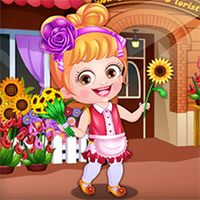 Baby Hazel Florist Dress Up