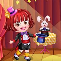 เกมใหม่ที่ดีที่สุด,You can play Baby Hazel Magician Dress Up on UGameZone.com for free.  Magic and Wonders! Baby Hazel is excited as she is going to perform as a magician today. Help her dress up in the right outfit so that she looks the part. Show your fashion skills and choose from dozens of trendy outfits and accessories to dress up Baby Hazel for her new exciting profession. Enjoy and have fun! Let the magic begin!