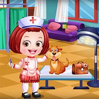 Baby Hazel Veterinarian Dress Up