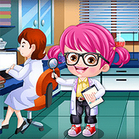 Baby Hazel Scientist Dress Up