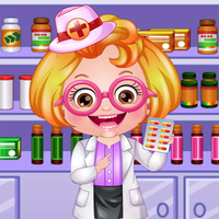 Baby Hazel Pharmacist Dress Up