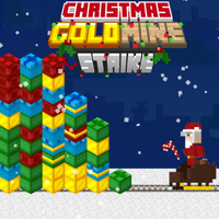 Popolare Giochi,Gold Mine Strike Christmas is one of the Blast Games that you can play on UGameZone.com for free.  Santa Claus has a huge problem on his hands in this match 3 puzzle game. Can you help him destroy this avalanche of blocks before it crushes him and his sled? Grab the bag of explosive candy canes and start throwing them as fast as you can. Enjoy and have fun!