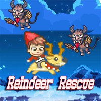 Tro chơi trực tuyên miên phi, Reindeer Rescue is one of the Flying Games that you can play on UGameZone.com for free. Rescue reindeer and Kongpanions and stop evil Krampus as you sail through the holiday night sky. Click to prance. Hold to dive. Dive through the clouds to rescue your friends. Good luck and have fun!