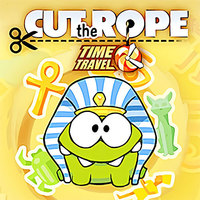 Best New Games,Cut The Rope: Time Travel is one of the Physics Games that you can play on UGameZone.com for free. Join Om Nom as he travels back in time to feed his ancestors with candy. Cut the Rope: Time Travel is a completely new adventure filled with time-traveling, candy-crunching, physics-based action! There's no time to waste! Visit six exciting locations including the Middle Ages, the Renaissance, a Pirate Ship, Ancient Egypt, Ancient Greece, the Stone Age, and Disco Era. Om Nom's ancestors are waiting – and they're getting really hungry for candy!