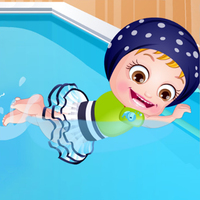 แนวโน้มเกม,You can play Baby Hazel Swimming Time on UGameZone.com for free.  Baby Hazel is excited about the swimming lessons to be taught by uncle James. Join Hazel to pack her bag with swimsuit and other essentials. Then go along with Hazel for the swimming sessions and keep her safe while she is in the pool. Dress up her in a swim suit and gears before she starts with a swimming lesson. Make sure that she carefully follows the instructions of uncle James. Enjoy learning how to swim with Hazel!!