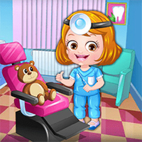 Game Gratis Populer,You can play Baby Hazel Dentist Dress Up on UGameZone.com for free.  It's time to dress up Baby Hazel in dentist outfits and accessories. Choose from various nice-looking professional skirts, tops, coats and accessories to give a perfect and stylish dentist makeover to Hazel. Give Hazel the required dentist tools so that she can provide the best dental treatment to her patients. So, kids give Baby Hazel the most stylish dentist makeover ever!!! Enjoy and have fun!