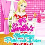 Barbie's Christmas Patchwork Dress