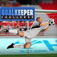 Games Trends,Goalkeeper Challenge is one of the Football Games that you can play on UGameZone.com for free. Can you defend this goal from the players on the other team? They're coming at you fast and they've got lightning-quick moves. Show them no mercy in this soccer game. 10 different levels of increasing difficulty to test your reflexes saving as many shots at goal as possible. It's all in your hands! Enjoy and have fun!